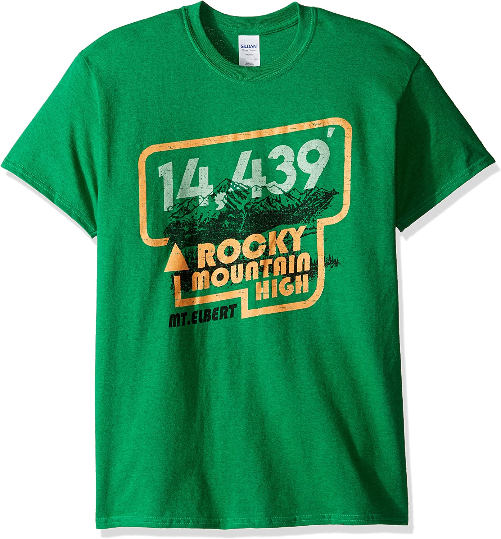 OVB Mens Colorado Rocky Mountain High Short Sleeve T-Shirt