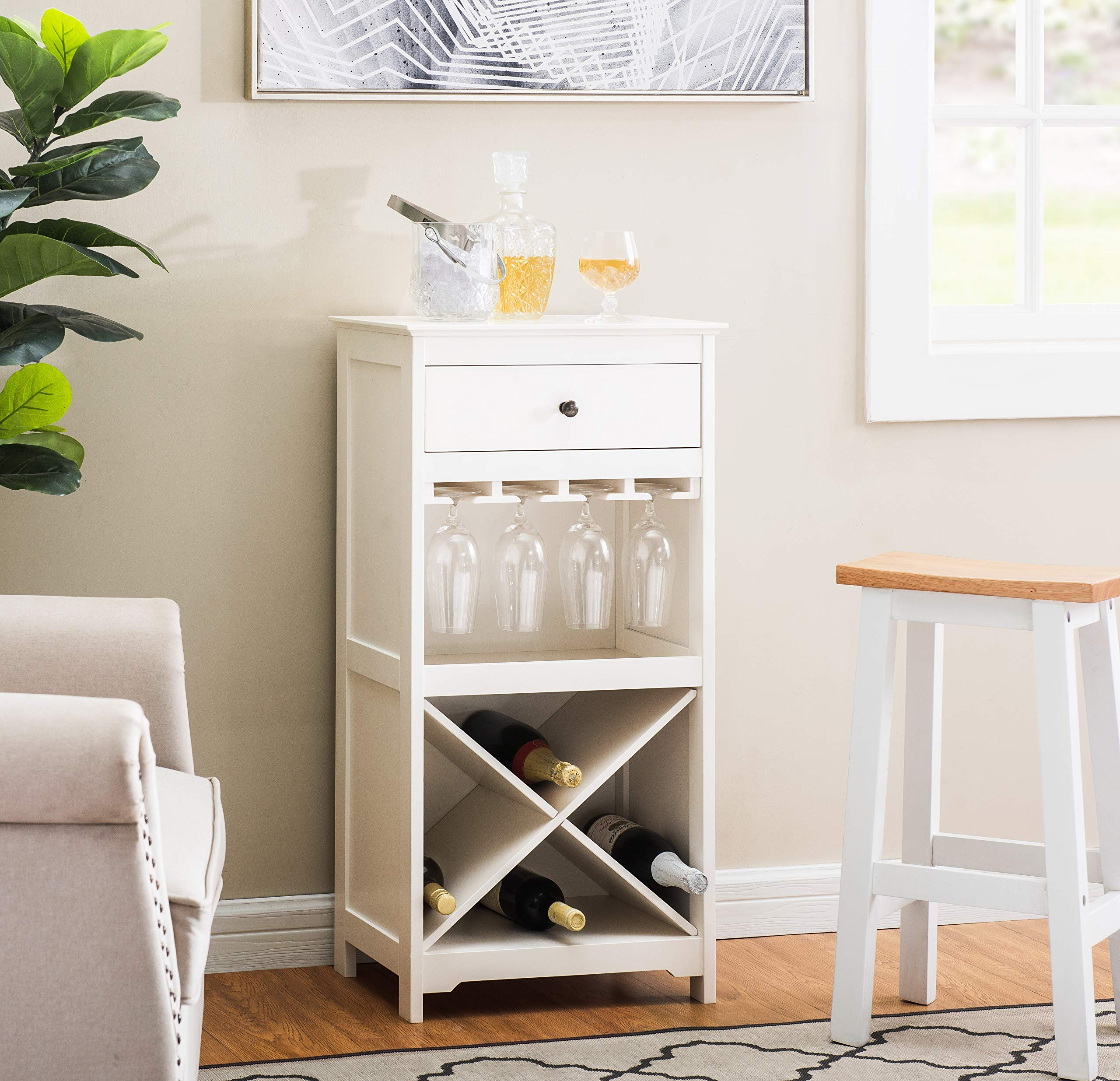 2L Lifestyle B21400002-W Paxton Cabinet, White by 2L Lifestyle