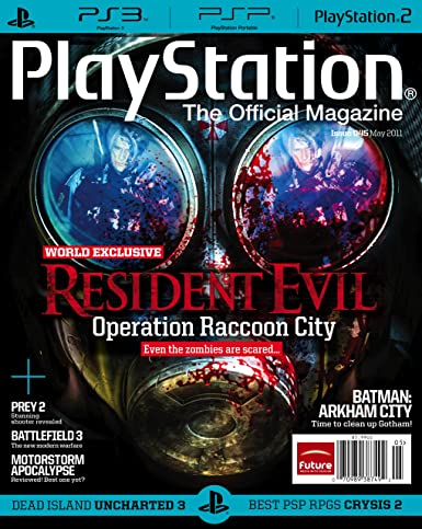 playstation the official magazine amazon com magazines