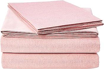 AmazonBasics Chambray Queen Bed Sheet Set