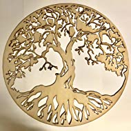 LoudNProud Inc Tree of Life Wood Wall Decor, Rustic Art, Wall Art, Home Accent