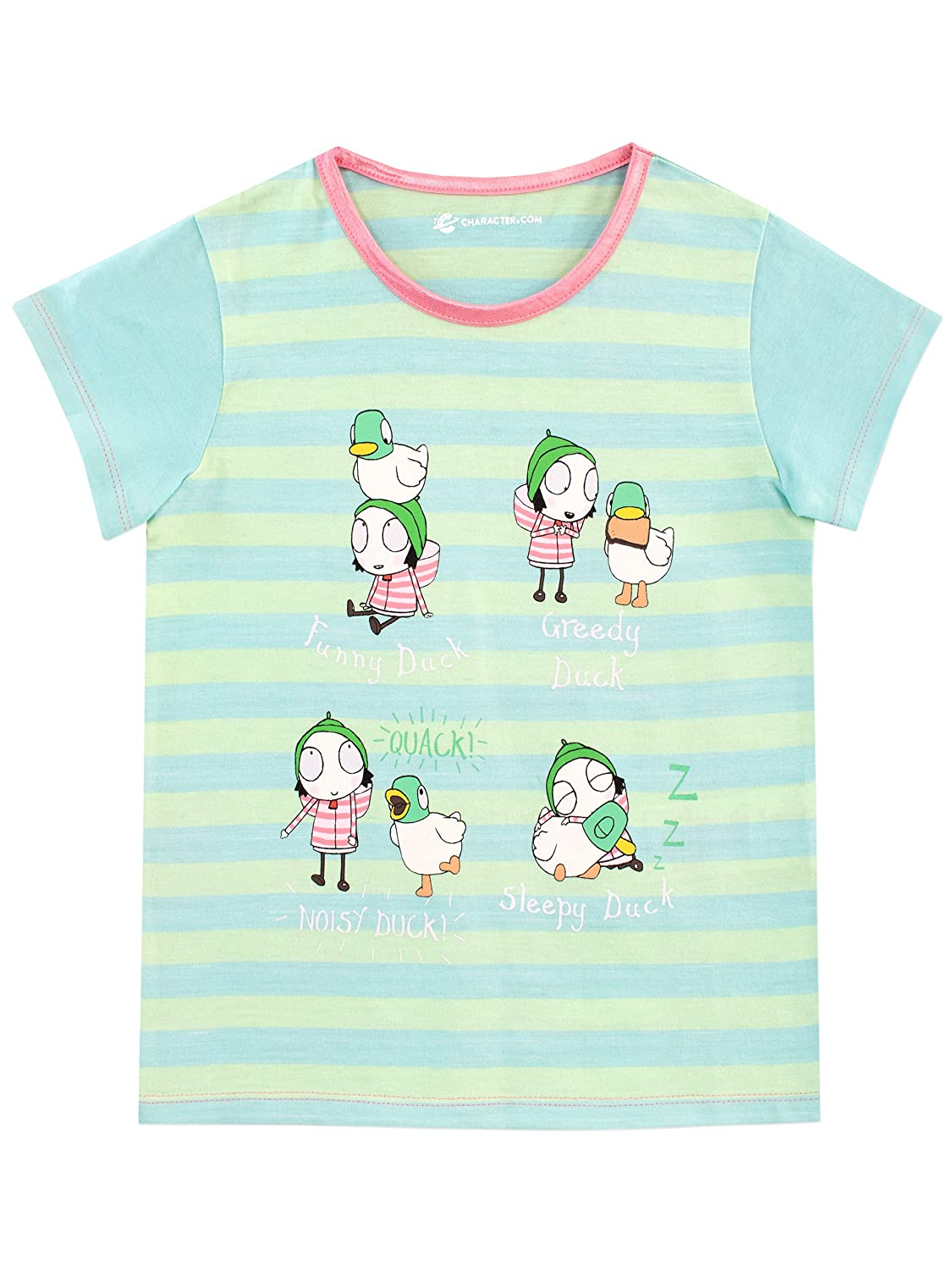 Sarah & Duck Girls Ducks T-Shirt