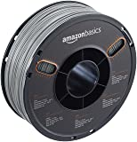 AmazonBasics ABS 3D Printer Filament, 1.75mm, Gray, 1 kg Spool