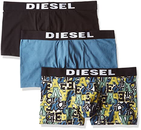 Diesel UMBX-Shawn Three-Pack - Ropa Interior - M Hombres