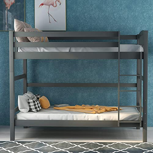 SOFTSEA Twin Over Twin Bunk Bed