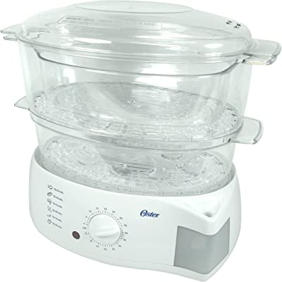 Oster 5711 Electronic 2-Tier 6.1-Quart Food Steamer