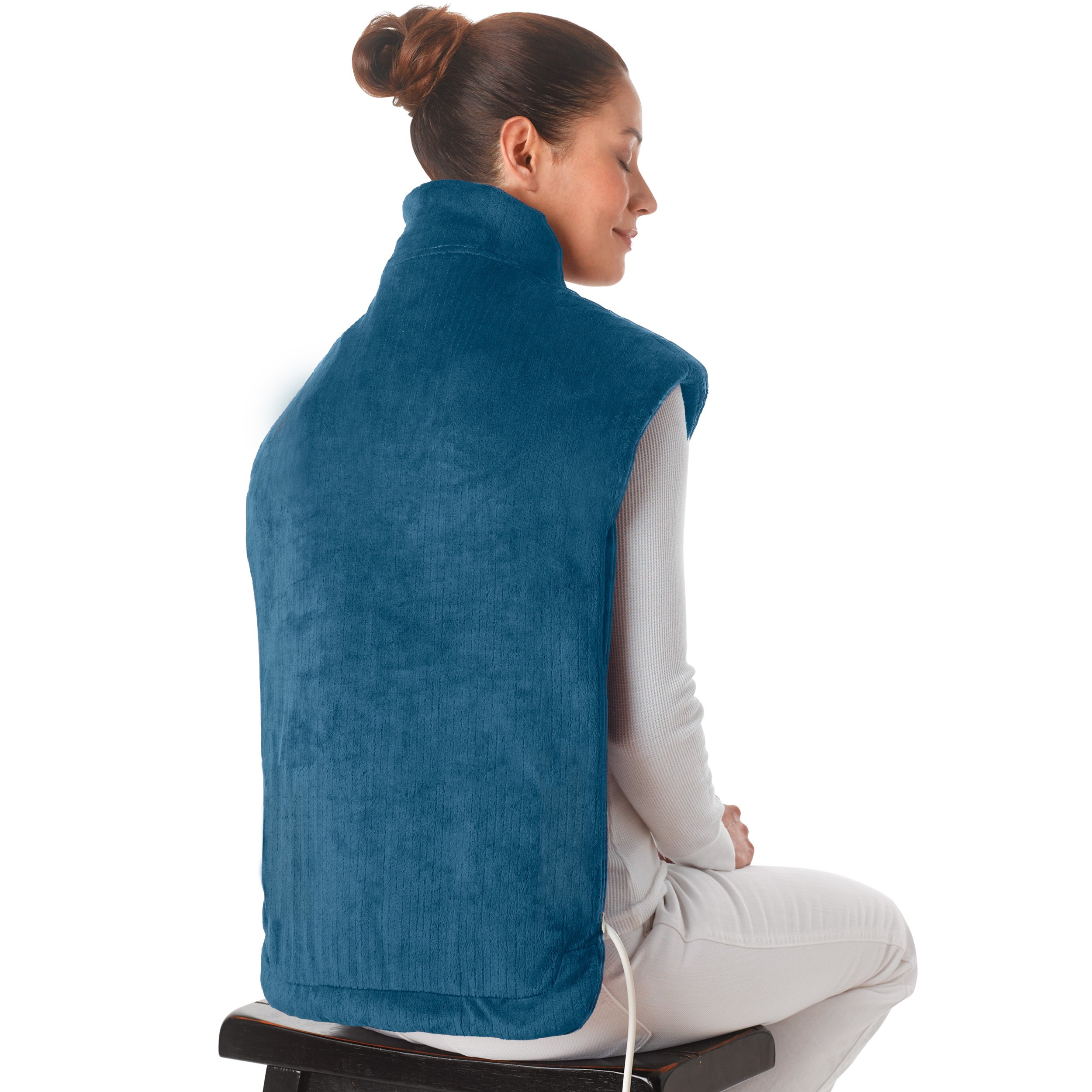 Ontel Thermapulse Relief Wrap Extra, Long Heat Wrap, Blue