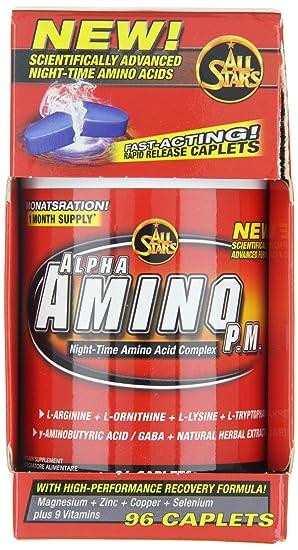All Stars Alpha-Amino PM Standard - 96 Cápsulas: Amazon.es: Salud ...