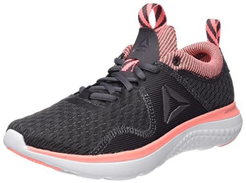 Reebok Astroride Run Fire, Zapatillas de Running para Mujer, Gris (Ash Grey/Sour Melon/Coal/White/Steel/Pewter), 41 EU