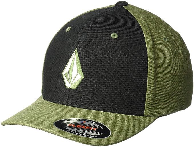 5bbfcaaed1b6e Volcom Men s Full Stone Heather Flex Fit Hat  Amazon.ca  Clothing ...