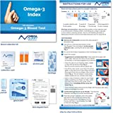 Omega-3 Index Basic - The Original Omega-3 Blood Test with one drop of blood.