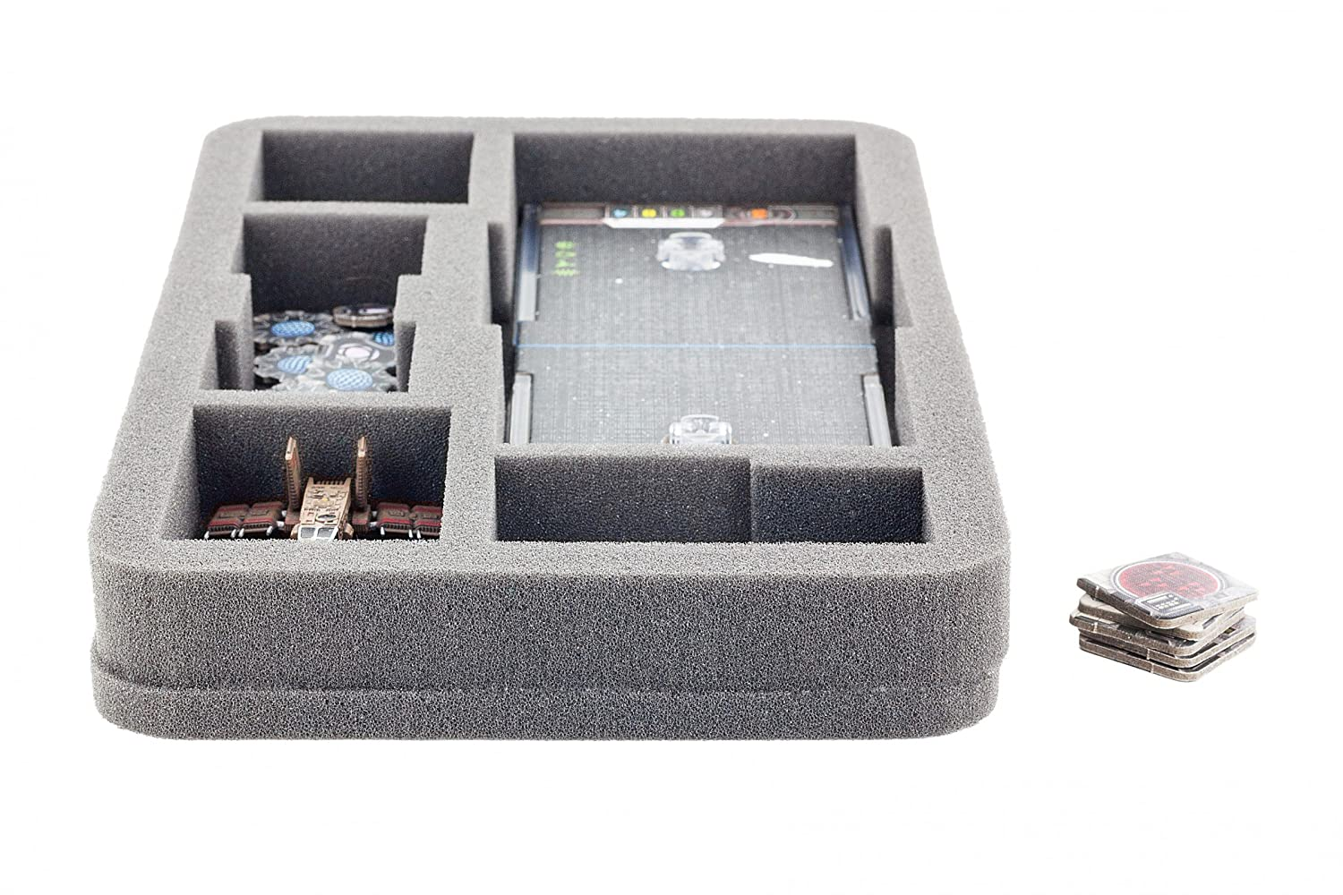 1.96 inches full-size foam tray for Star Wars X-WING: Falcon YT-2400 U-Wing and Rebel Transport FSJP050BO 50 mm