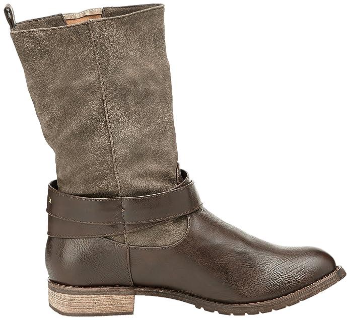 Femme Sacs Risko Et Kaporal Chaussures Bottes Motardes Axx8wR