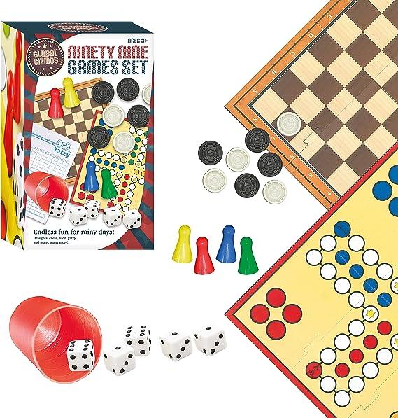 Global Gizmos - Set de Juegos de Mesa, para 4 Jugadores (Benross Group 50820) (Importado): Amazon.es: Juguetes y juegos