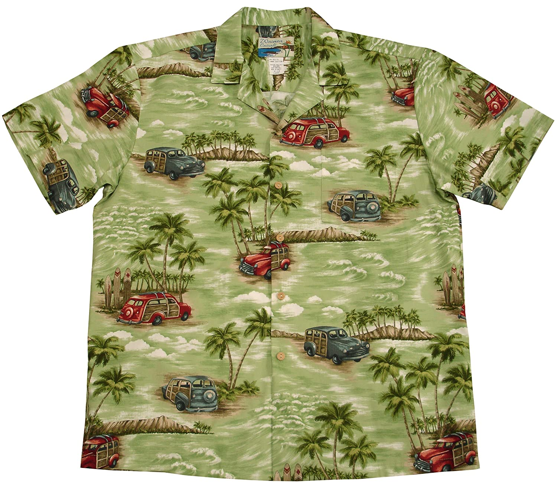 Paradise Found Waimea Casuals Mens Woodie Shirt