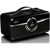 VQ Susie-Q | Smart Radio & Speaker – DAB+ Digital & FM, Internet Radio & Bluetooth, Spotify Connect & Multi-Room – Black…
