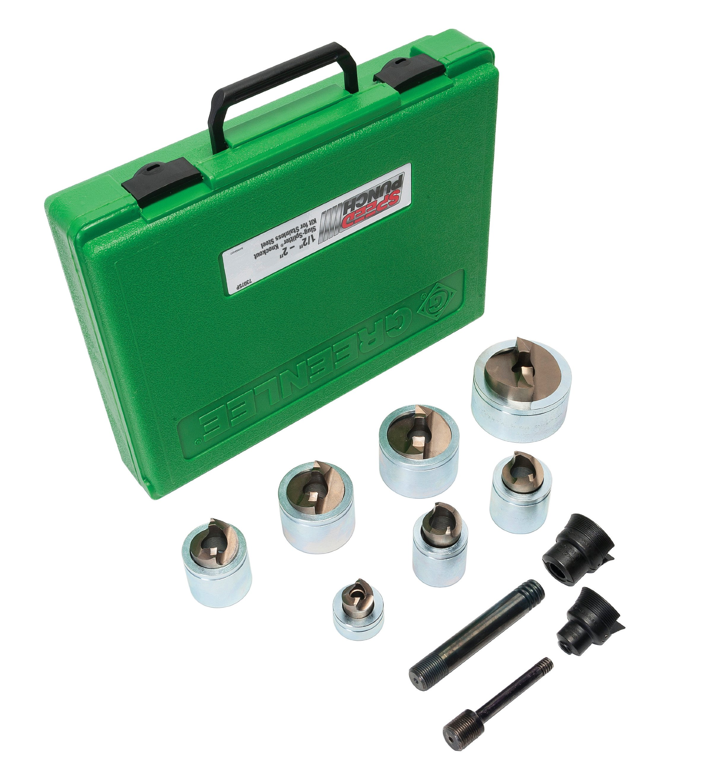 Greenlee 7307SP Kit Stainless Steel 1/2-Inch to 2-Inch Conduit
