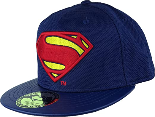 Batman v Superman Dawn of Justice Gorra Béisbol Superman Logo ...
