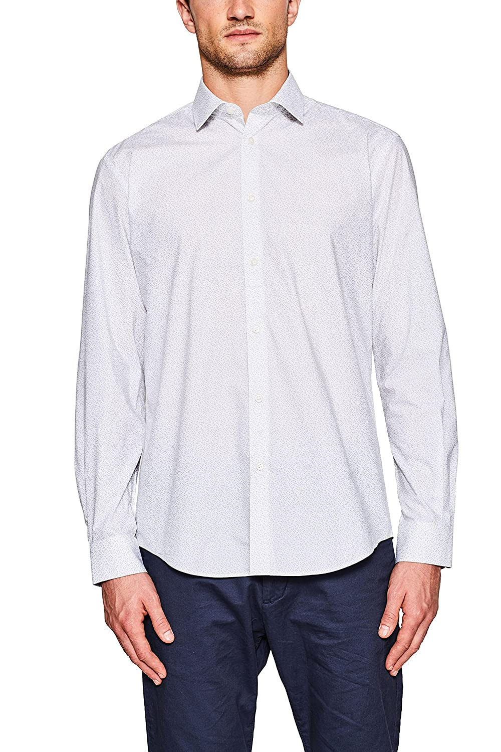 TALLA 41. ESPRIT Collection Camisa para Hombre