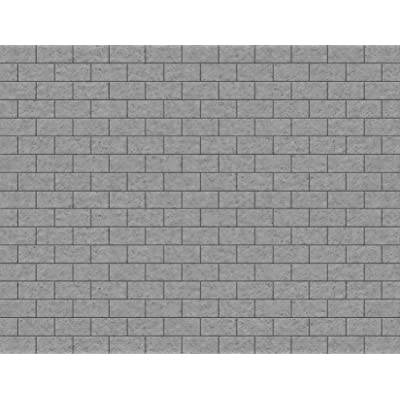 O Scale Stone Blocks Paper 8.5x11 Pack of 5 (Dark Gray): Toys & Games