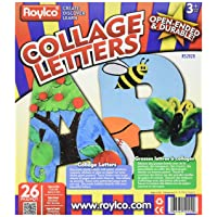 Roylco Upper Case Collage Letters, 9
