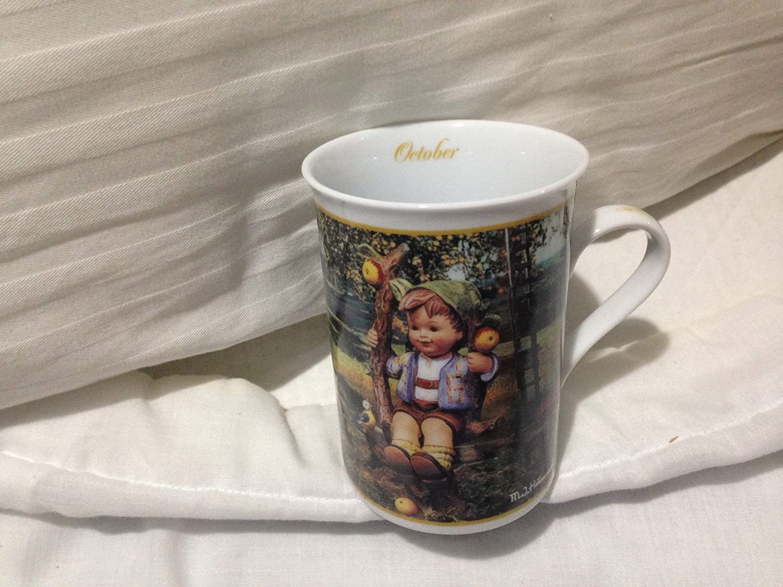 M.I. Hummel Fine Porcelain Collector's Mug - October - Apple Tree Boy by The Danbury Mint