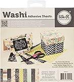 6x6 inch Washi Adhesive Sheet Pad - Chalkboard