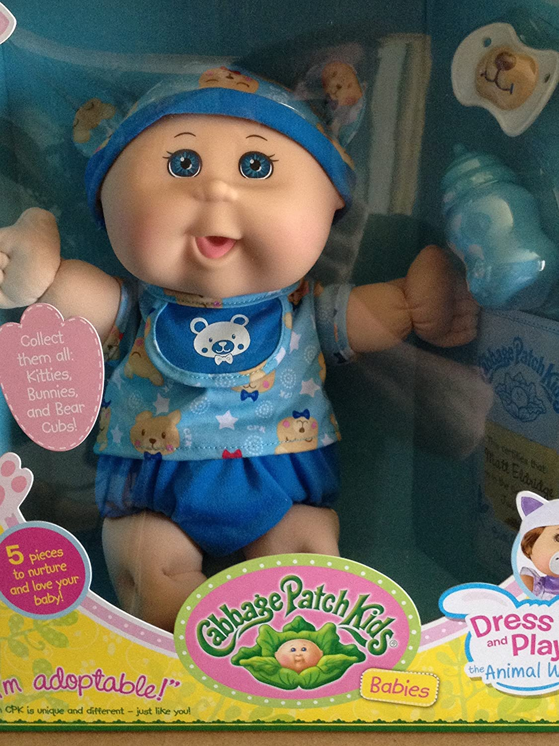 Amazon Com Cabbage Patch Kids Babies Dress Up And Play The Animal