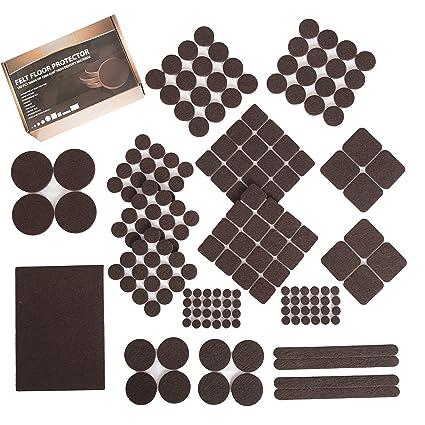 Furniture Felt Pads Xl Set 185 Pcs Pack Floor Protector For Wood