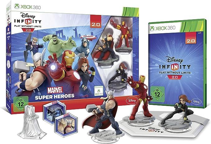 Disney Infinity 2.0: Marvel Super Heroes Starter-Set [Importación ...