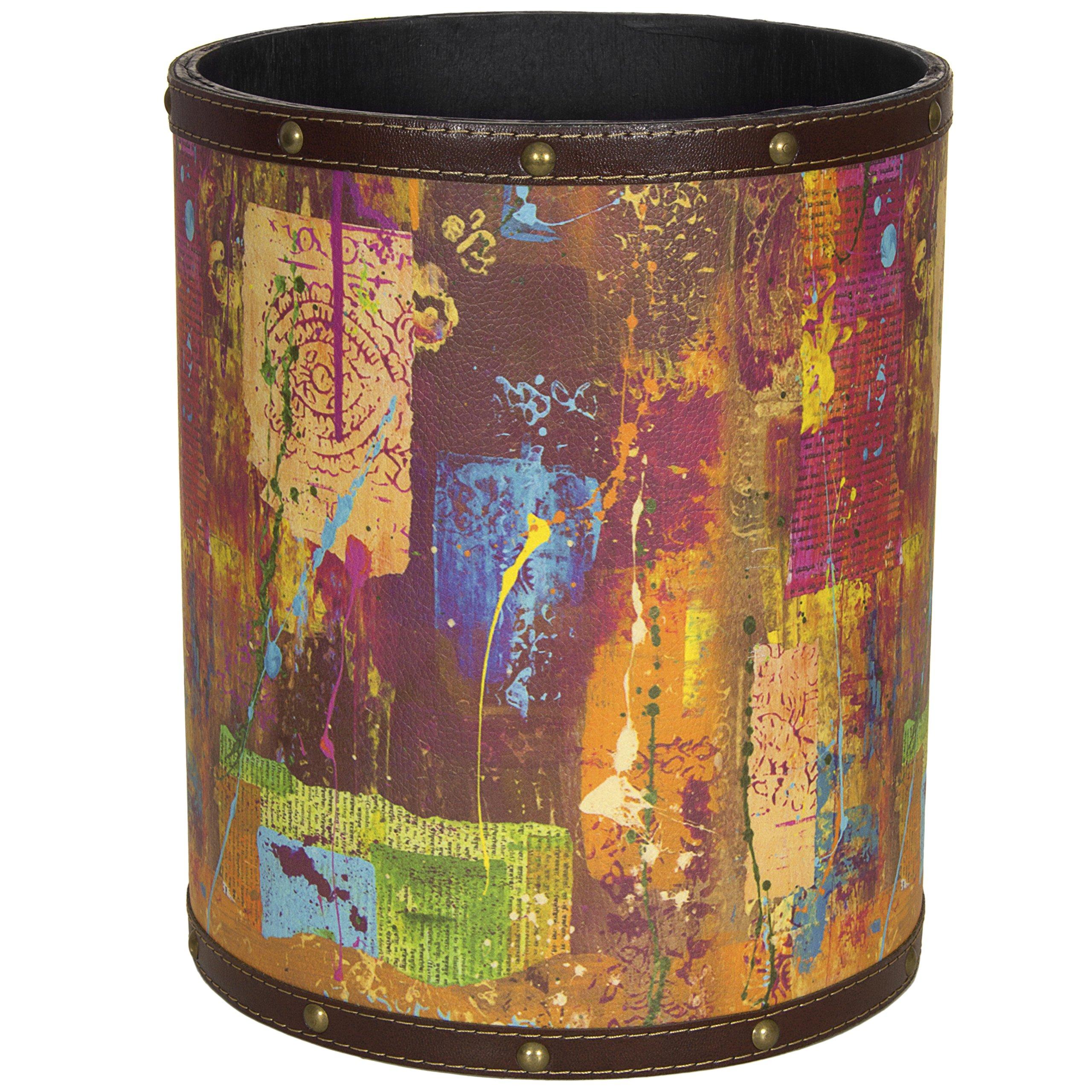 Oriental Furniture CAN-WST-GITA13 India by Gita Waste Basket