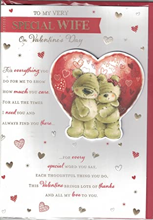 Valentines day card to my amazing wife on valentines day large valentines day card to my amazing wife on valentines day large quality card m4hsunfo