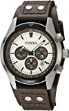 Fossil Ch2565p Coachman Chronograph Brown Leather Watch Watch For Men