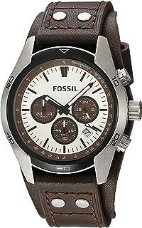 ae9656512e7 Amazon.com  Fossil Men s Grant Sport Quartz Stainless Steel and ...