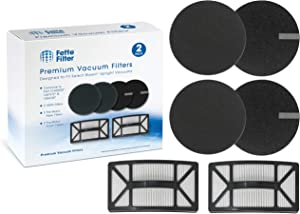 Fette Filter - Vacuum Filter Compatible with Bissell Rewind Pet Vacuum. Compare to Part # 1608225, 1601972 & 1604130. Combo Pack