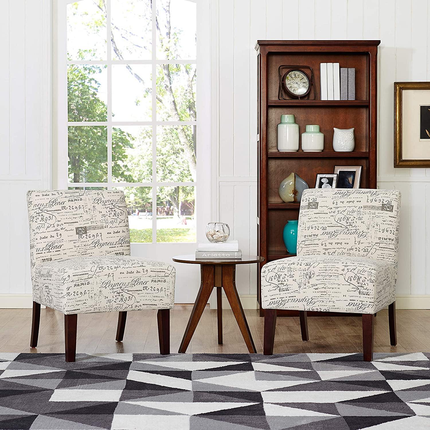 Oadeer Home Accent Chair Off-White