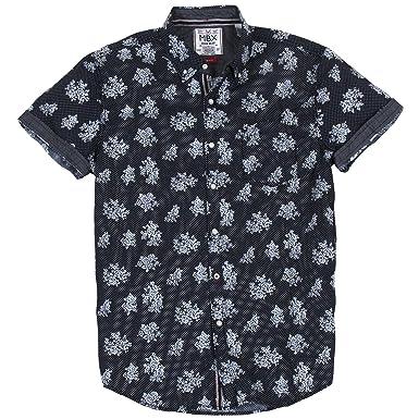 632710eb MBX Men's Printed Floral Dot at Amazon Men's Clothing store: