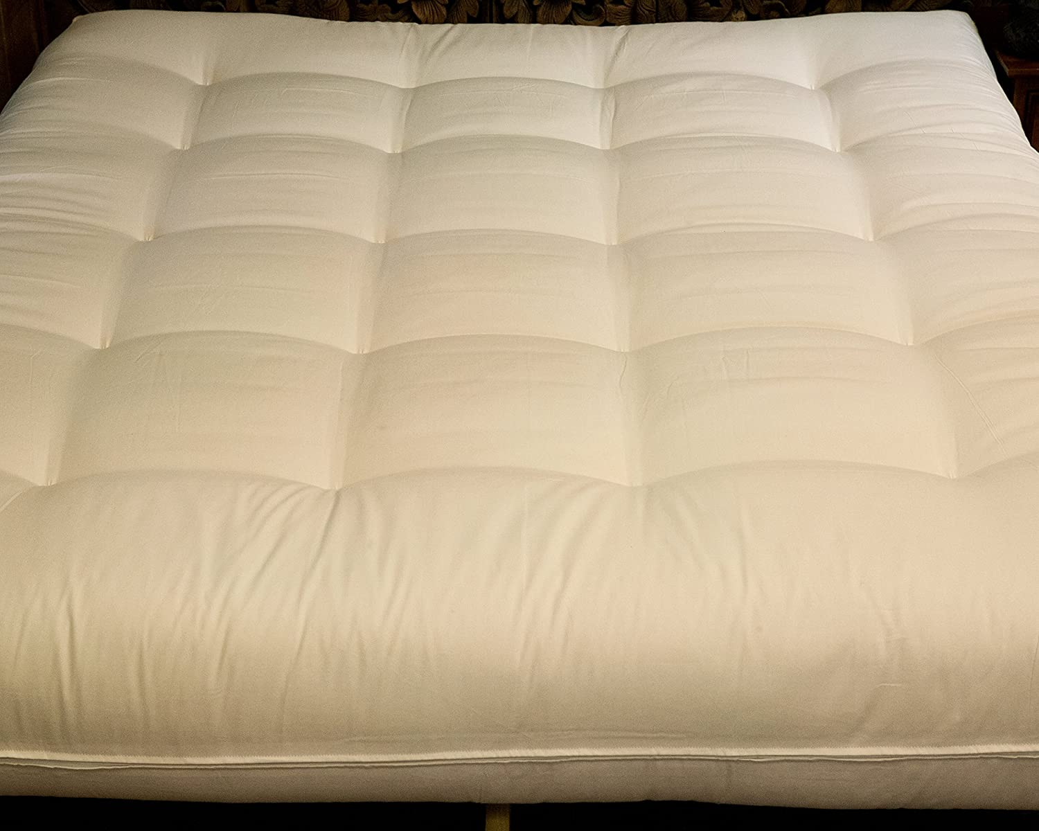 Cotton Cloud Natural Beds and Furniture Pearl King Size Bed Mattress