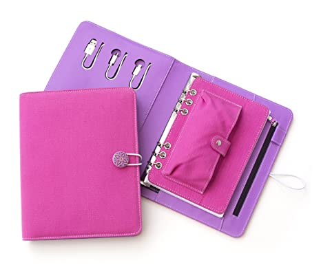 Tech Candy Power Planner Bullet Journal Agenda Portable Charger Lightning Connector Micro USB Rechargeable iPhone Android Tablet Caddy Designer ...