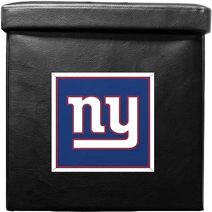 Amazon.com: NFL New York Giants plegable Otomano Caja ...
