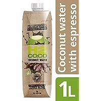 H2coco Cocoespresso Coffee Coconut Water 1 Litre, 6 x 6.7 kg