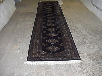 Teppich Buchara Aus Pakistan Laufer 346 X 77 Cm Amazon De Kuche
