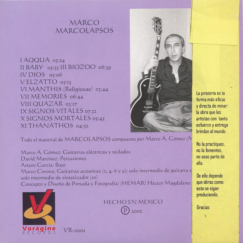 Marco - Marcolapsos - Amazon.com Music