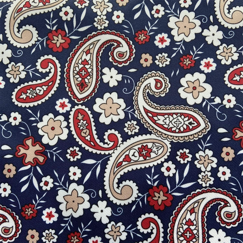 "willikiva Waterproof Quilting Fabric DIY Sewing Crafts Printed Indoor Outdoor UpholsteryFabricbyTheYard 36""(91.44CM) x 57""(146CM)(Star Flower)"