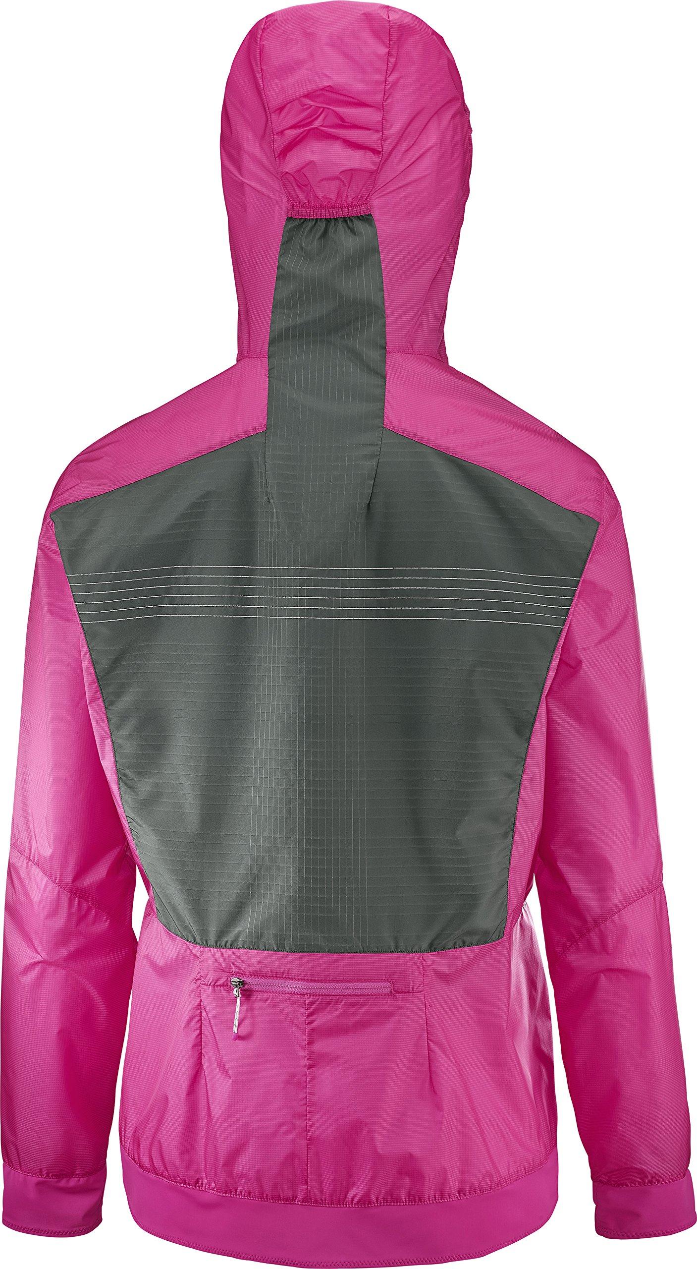 Salomon Women's Lightning Aero FZ Hoodie, Pink Yarrow, S by Salomon (Image #3)