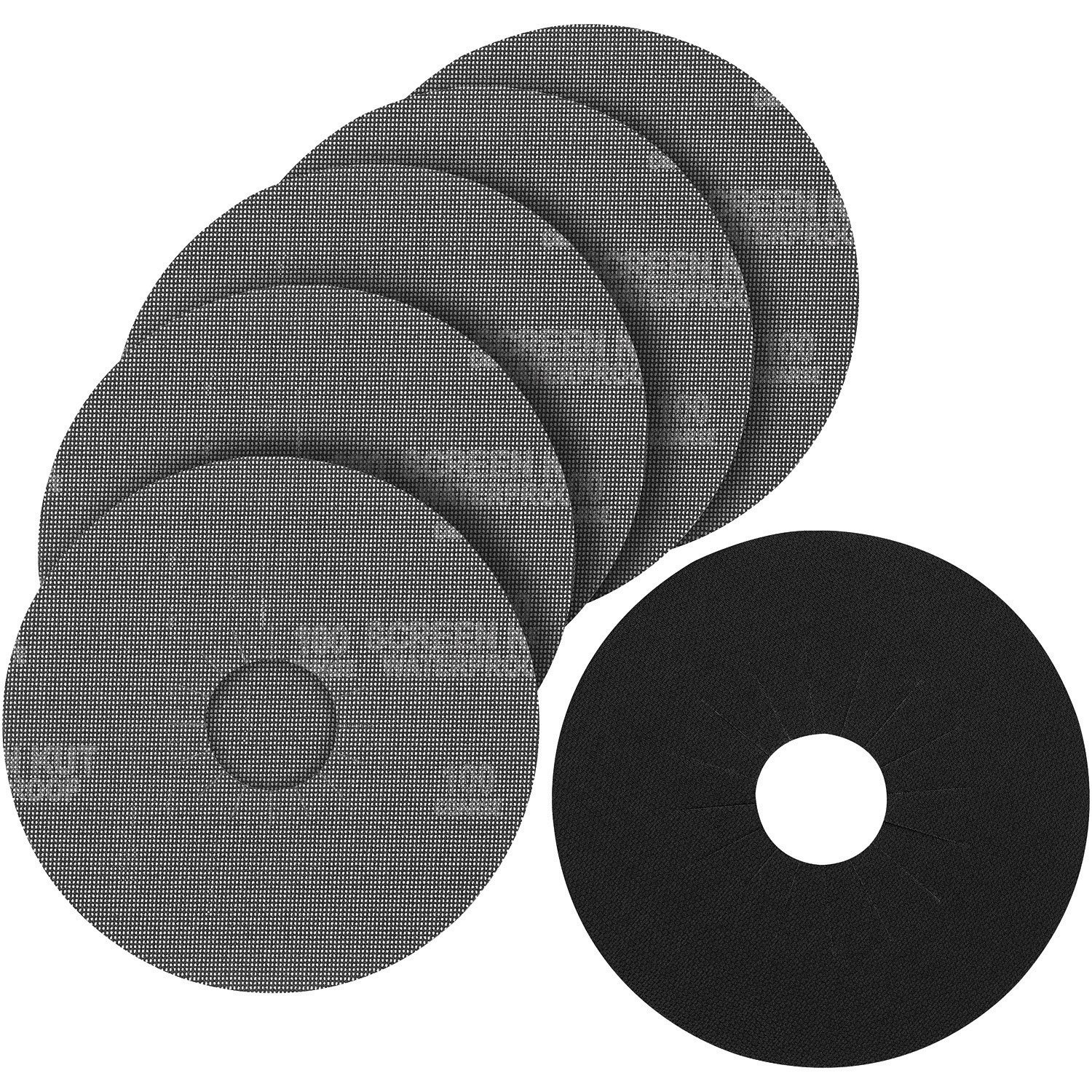 PORTER-CABLE 79120-5 120 Grit Hook & Loop Drywall Sander Pad & Discs (5-Pack)