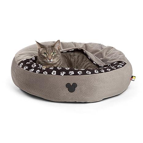 Disney Mickey Mouse Cozy Cuddler en borla de Mickey (cama de perro/gato cama