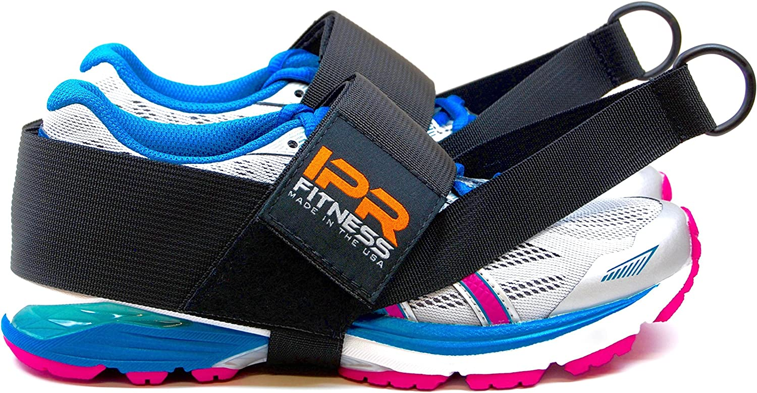 "IPR Fitness Glute Kickback PRO ""Patented"" 100% Made in The USA I Cable Machine Ankle Straps"