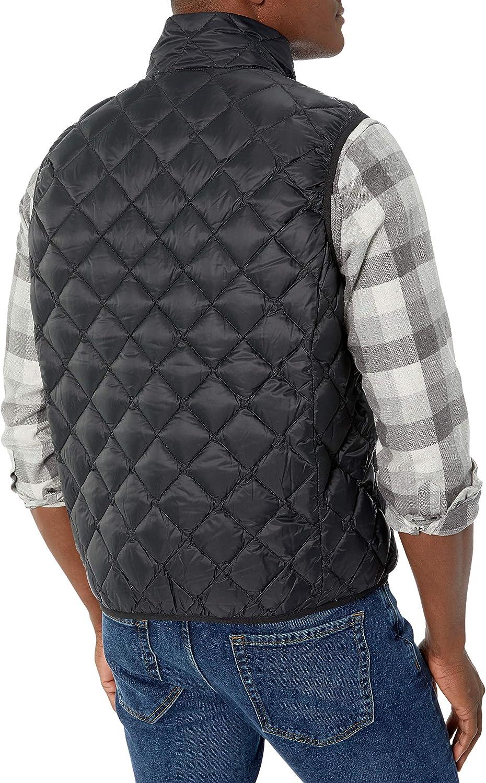 Hawke /& Co Mens Diamond Quilt Pkr Vest
