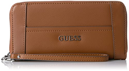 Billetera y cartera Guess de la colección Delaney (coñac)